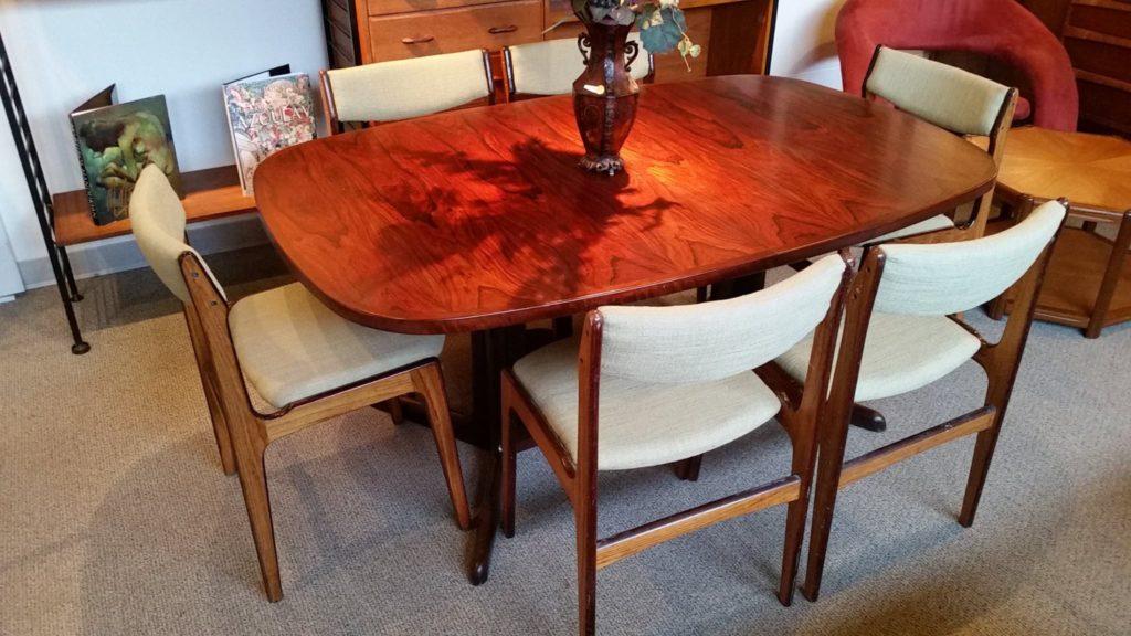 Antique Furniture | Mid Century Modern Furniture | Boise, Idaho | Sevoy  Furniture Gallery. Danish Rosewood Table