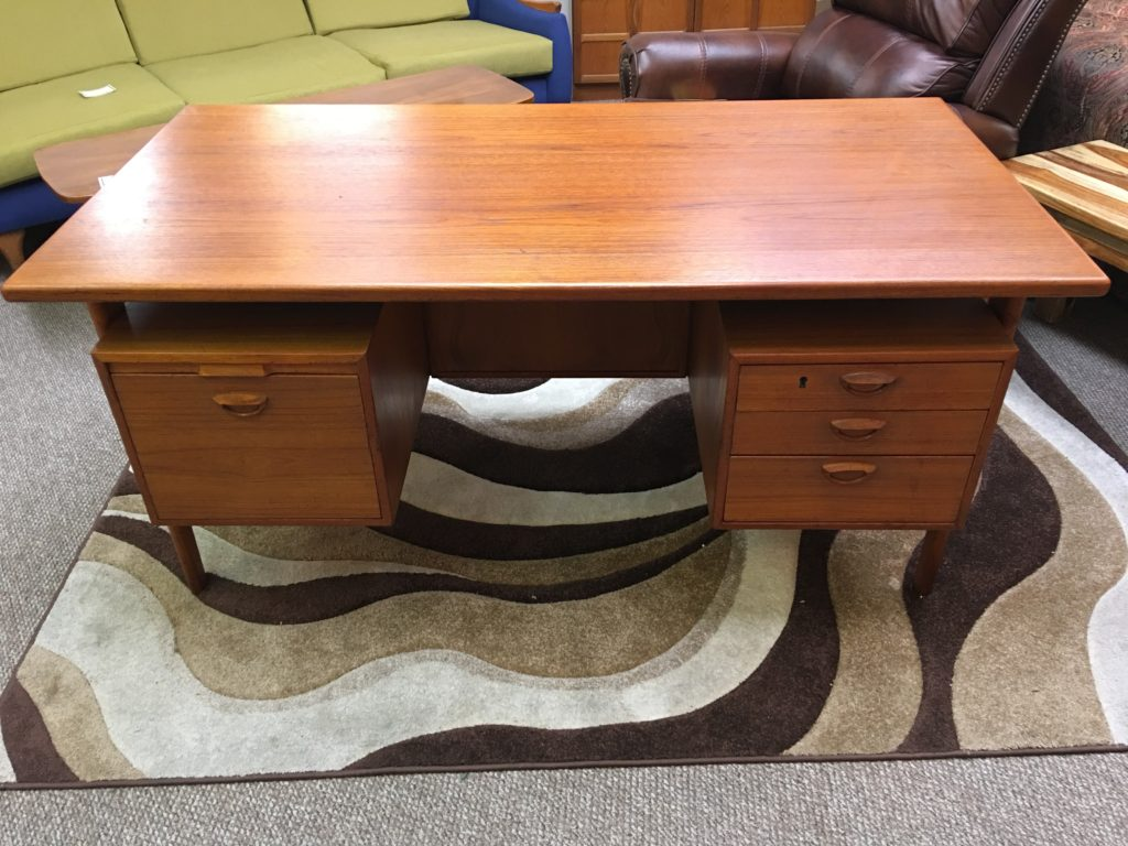 antique furniture mid century modern furniture boise idaho sevoy furniture gallery office desk - Mid Century Modern Furniture Desk